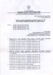 Par Valmieras pilsētas pašvaldības 2011.gada budžetu
