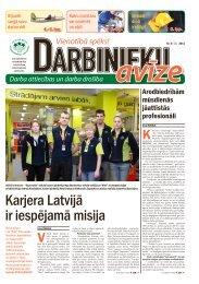 Darbinieku avīze Nr. 12 - Latvijas Brīvo Arodbiedrību Savienība