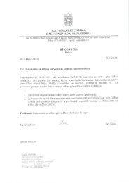Dokumentu un arhīva pārvaldības kārtība - Balvi