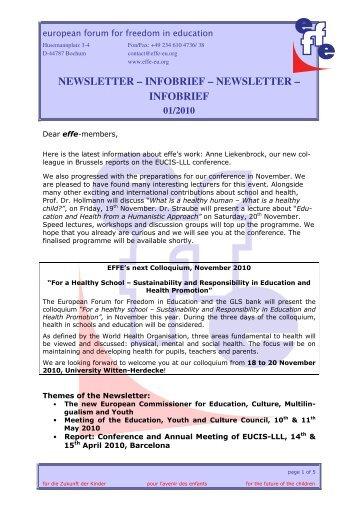 newsletter – infobrief – newsletter – infobrief - WordPress – www ...