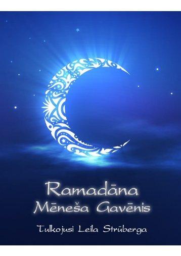 Ramadāna Mēneša Gavēnis - IslamMuslim.lv