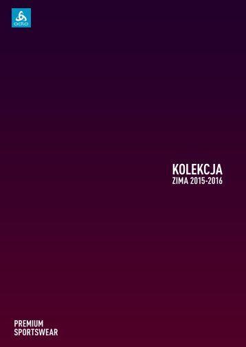 ODLO - JESIEN-ZIMA 2015/16 - katalog Polska