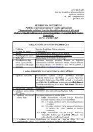 Noteikumi - Latvijas Republikas Ārlietu Ministrija