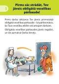 Darbinieka rokasgrāmata drošībai un veselībai darbā - Page 7