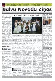 Balvu Novada Ziņas Nr.4. - Balvi