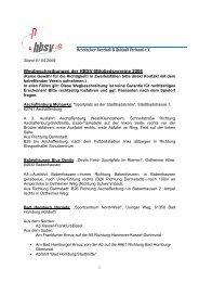 Anfahrtsbeschreibung HBSV Vereine - und Softball-Verein Frankfurt ...