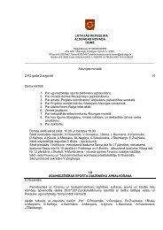LATVIJAS REPUBLIKA ALSUNGAS NOVADA DOME