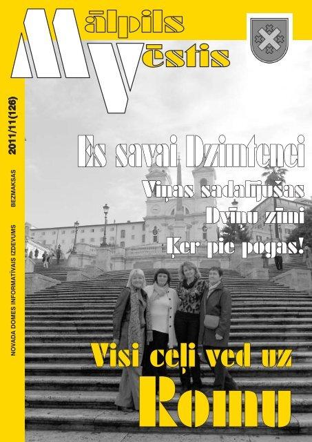 Nr. 11 (126) Novembris - Mālpils