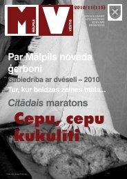 Nr.11 (115) Novembris - Mālpils