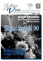 Nr.11 (93) Novembris - Mālpils