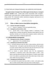 Teritorijas izmantošana un apbūves noteikumi - Mālpils