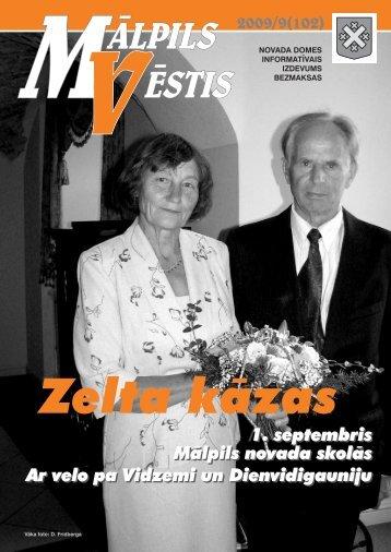 Nr. 9 (102) Septembris - Mālpils