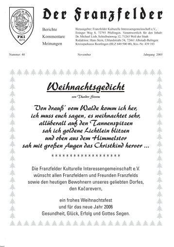 Weihnachtsgedichte Für Kinder Grundschule.Weihnachtsgedichte Magazine