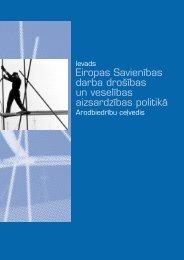 Ievads Eiropas Savienības darba drošības un veselības ...