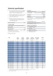 Air Oil Coolers Oiltech LOC Datasheet