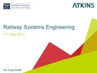Railway Systems Engineering - SPAD