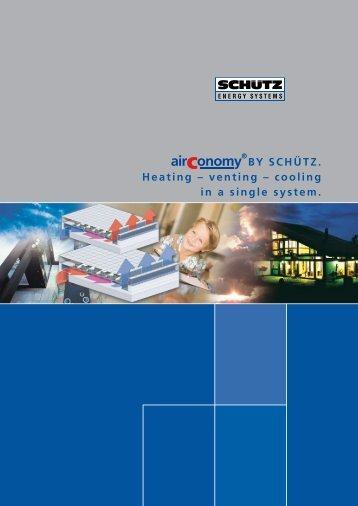 Schutz AirConomy system Catalogue