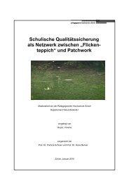 pestalozzianum Patchwork-Masterarbeit