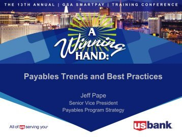 Payables Trends and Best Practices