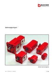 Datenblätter - Birrer Hydraulik AG