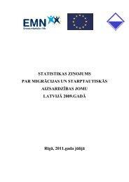Statistikas ziņojums par migrācijas un starptautiskās aizsardzības ...