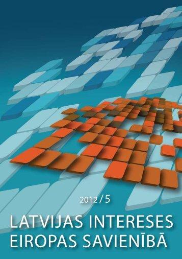 Nr.5 (8) / 2012.gada decembris (pdf) - Par es.gov.lv