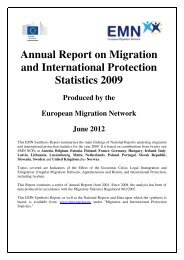 Annual Report on Migration and International Protection Statistics ...