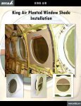 King Air Pleated Window Shades Catalog T4 - Page 4