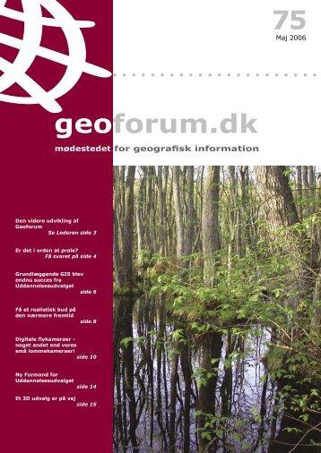 75 geoforum.dk - GeoForum Danmark