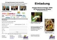 Einladung Reisevorträge November 2009 2