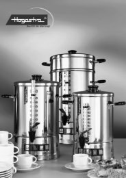 Download Hogastra Kaffeeautomat CNS Bedienungsanleitung