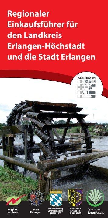 Regionaler Einkaufsführer für den Landkreis Erlangen-Höchstadt und