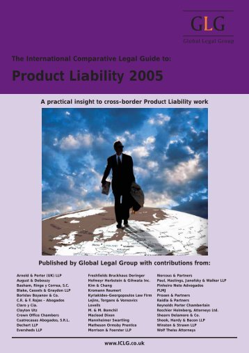 Product Liability 2005. Latvia chapter - Raidla Lejins & Norcous