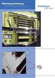 Montageanleitung Mounting instructions Bullfänger - HS Schoch