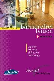 barrierefrei bauen - Land Salzburg