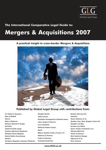 Mergers & Acquisitions 2007. Latvia chapter - Raidla Lejins & Norcous