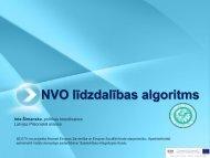 NVO līdzdalības algoritms - Liepāja