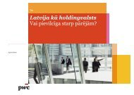 Zlata Elksniņa-Zaščirinska, PricewaterhouseCoopers - BIG event