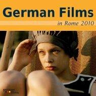 German Films in Rome 2010