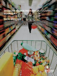 discover hidden patterns in customer behavior for more ... - Camo