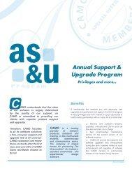 AS&U Annual Support & Upgrade Program - Camo