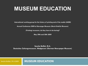 2. museum education