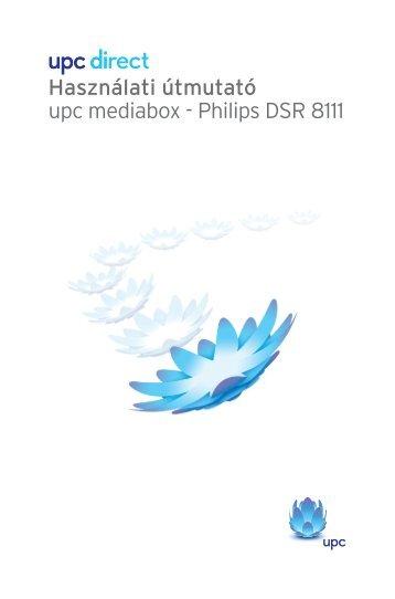 Használati útmutató upc mediabox - Philips DSR 8111 - Forgat-SAT