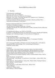 Bericht über das Jahr 2010 - 50Webs