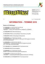 INFORMATION – TERMINE 2010 - 50Webs