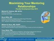 slides - Academic Affairs - University of California, San Francisco