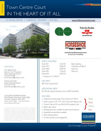 Property Flyer - Colliers International