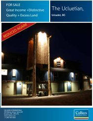 FOR Sale: - Colliers International