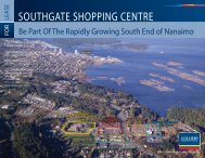 SOUTHGATE SHOPPING CENTRE - Colliers International