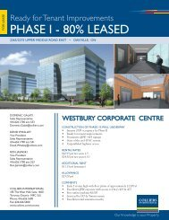 Westbury Corporate Centre_Flyer.indd - Colliers International